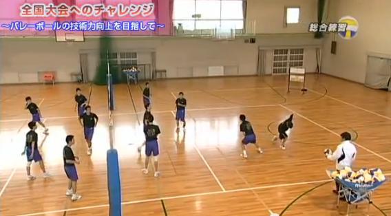 バレーボール総合練習法解説DVD