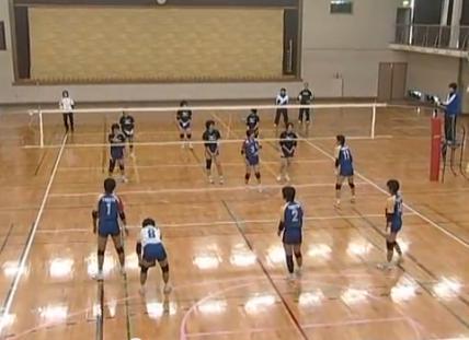 バレーボール スパイク練習法 アタッカー養成 バックアタック指導